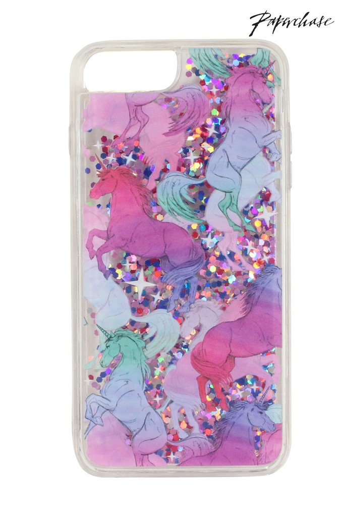 Womens Paperchase Unicorn iPhone 6 7 8 PLUS Case - Pink  9777569f09