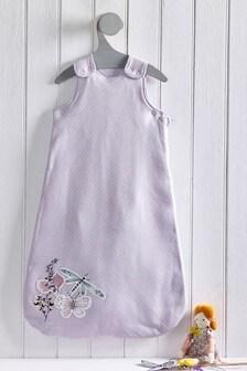 Lilac Meadow Floral 2.5 Tog Sleep Bag