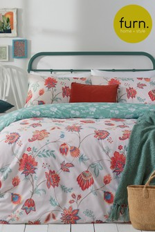 Amreli Duvet Cover and Pillowcase Set by Furn