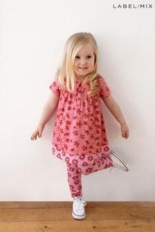 Mix/Primrose Park Floral Dress And Legging Set