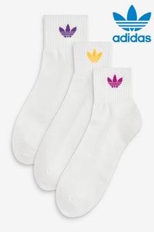 adidas Originals Mid Ankle Socks 3 Pack
