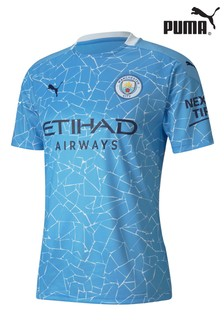 Puma Manchester City Home Short Sleeve Jersey