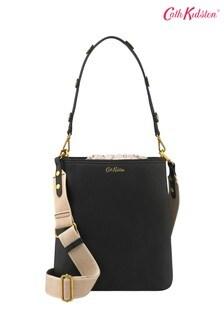 Cath Kidston® Solid Medium Leather Bucket Shoulder Bag