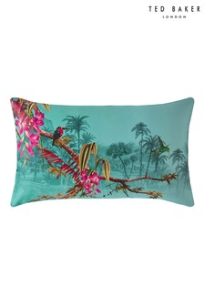 Set of 2 Ted Baker Green Hibiscus Pillowcases