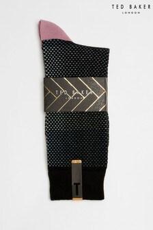 Baza條紋襪