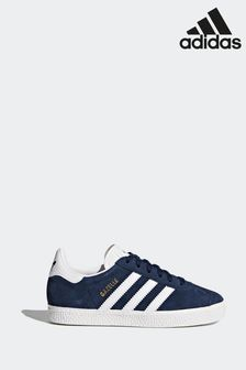 adidas Originals Navy Gazelle Junior Trainers