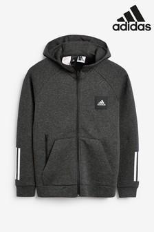 adidas Black Must Have Full Zip Hoody