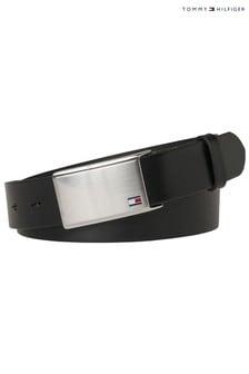 Tommy Hilfiger Adjustable Flag Plaque Belt