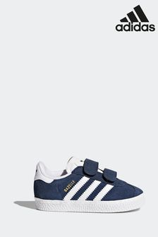adidas Originals Navy Gazelle Infant Trainers