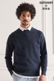 Superdry棉質織紋針織套衫