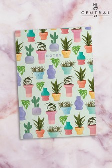 Central 23 Potted Plants Notebook