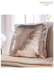 Tess Daly Sequin Cushion