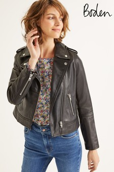 Boden Black Morleigh Jacket