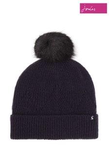 Joules ブルー Thurley ニット帽