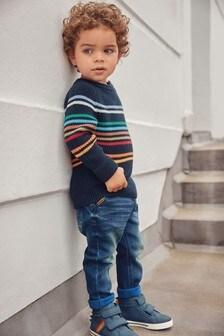 Stripe Knitted Jumper (3mths-7yrs)