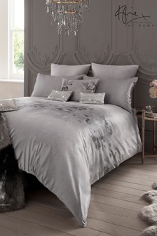 Kylie Exclusive To Next Luciana Velvet Floral Duvet Cover