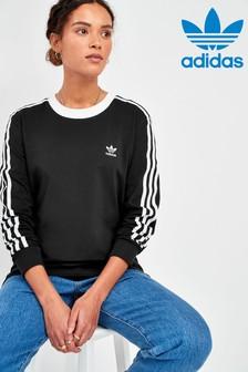 adidas Originals Langärmeliges T-Shirt mit 3 Streifen