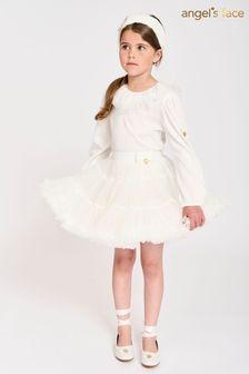 Angel's Face White Pixie Tutu Skirt