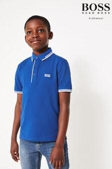 BOSS Poloshirt, Blau