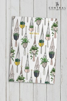 Central 23 Hanging Plants Notebook