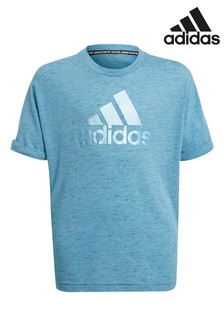 adidas Blue Pearl Logo T-Shirt