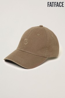FatFace Green Plain Baseball Cap