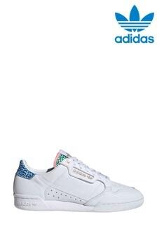 Белые кроссовки adidas Originals Continental 80
