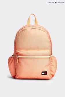Оранжевый однотонный детский рюкзак Tommy Hilfiger