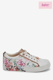 Baker by Ted Baker Scallop Print Sneakers
