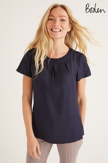 Boden Carey Top, Blau