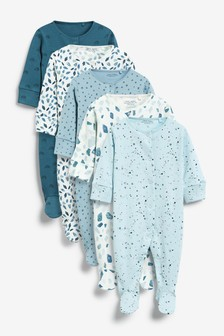 5 Pack Sleepsuits (0-2yrs) (105043) | $37 - $40