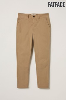 FatFace Natural Devon Ankle Grazer Chinos
