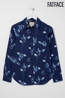 FatFace Olivia Windswept Hemd, Blau