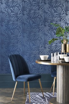 Paste The Wall Palm Leaf Wallpaper