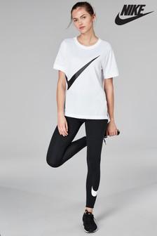 Nike Club Black Logo Leggings