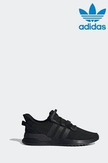 Черные кроссовки для бега adidas Originals U Path