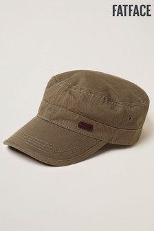 FatFace Green Train Driver Cap