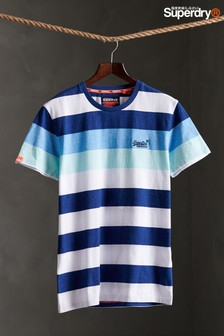 Superdry Blue Stripe T-Shirt