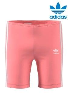 Розовые велошорты adidas Originals