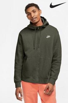 Nike Club Zip Through Hoody