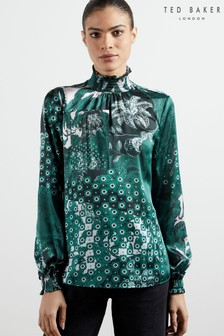 Ted Baker Madrii Rococo High Neck Top