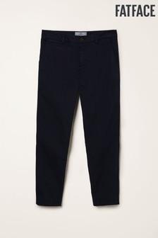 Pantaloni chino până la gleznă FatFace Devon Grazer albaștri