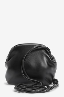Snap Closure Cross-Body Bag