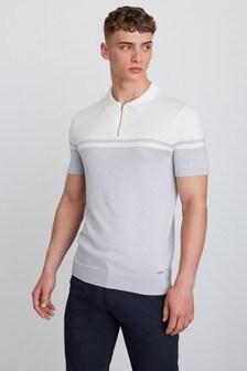Элегантная рубашка поло на молнии