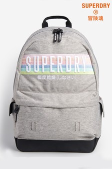 Superdry Grey Rainbow Montana Backpack