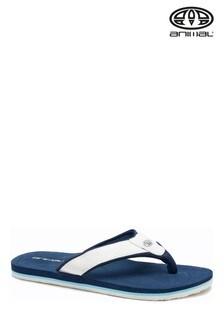 Animal Indigo Blue Bazil Flip Flops