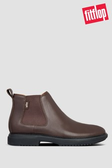 FitFlop™ Lamont Leather Chelsea Boots