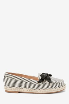 Espadrille Boat Shoes