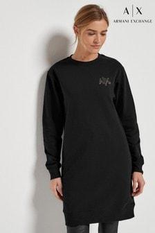 Armani Exchange Jersey Logo Dress