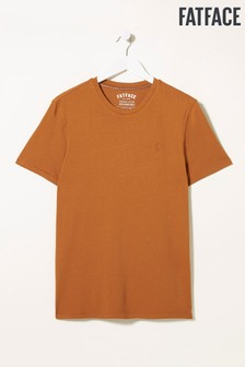 FatFace棕色Lulworth圓領T恤